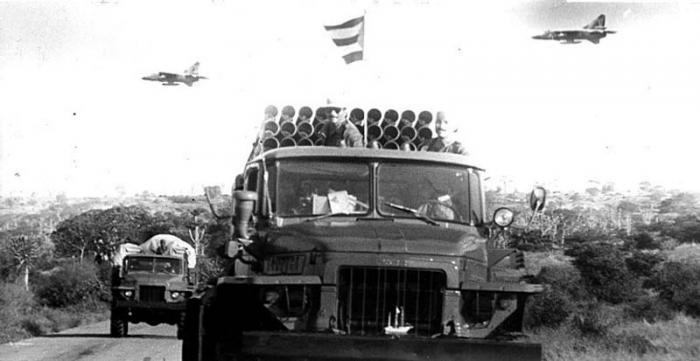 Cubains et Angolais donnèrent un exemple de courage sans précédent qui déboucha sur une victoire historique. Photo: Archivo