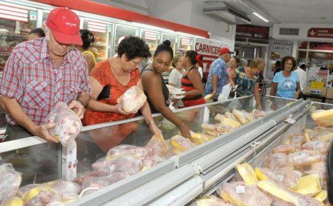 baisse des prix sur les denrées