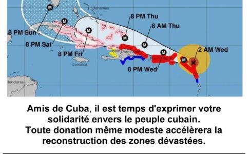 ALERTE CUBA IRMA